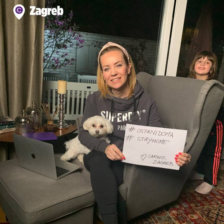 Carwiz family stays connected while staying at home