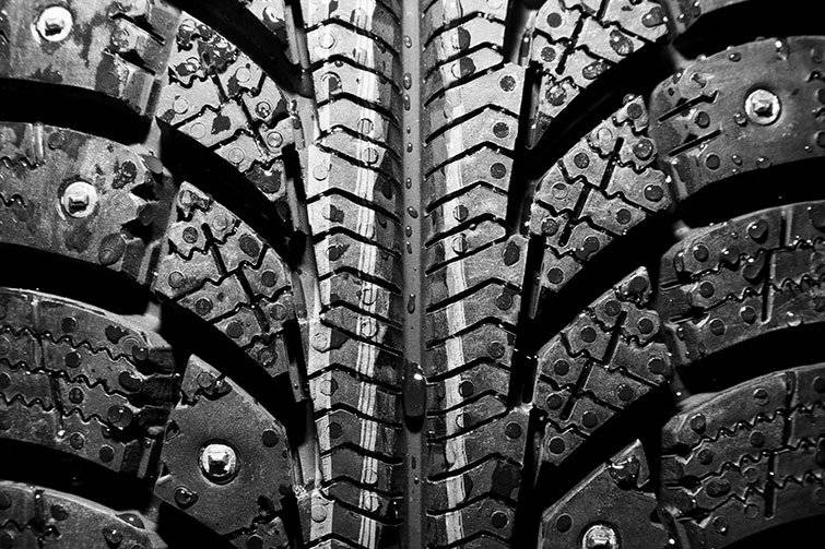 STUDDED TIRES ON ALL OUR VEHICLES!